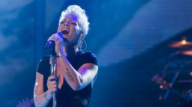 The X Factor (UK) -  December 2012, Pink