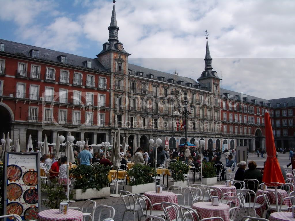 Plaza Mayor de Madrid. 2006