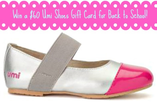 Win a $60 Umi Shoes Gift Card from Must Have Mom