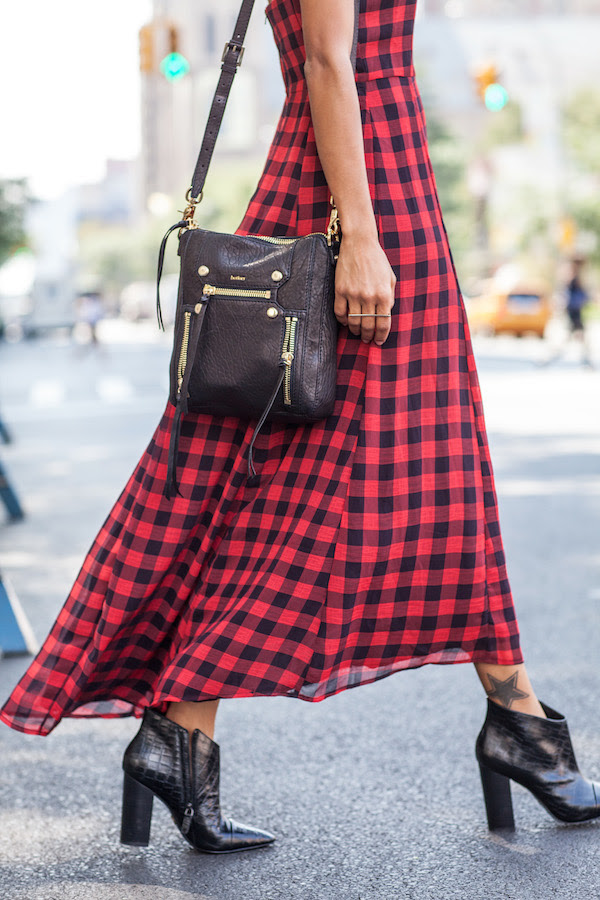 plaid red dress - STYLE ME GRASIE