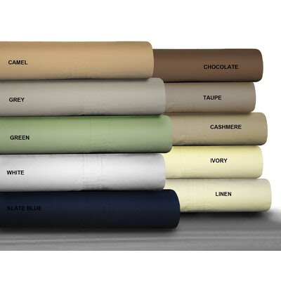 Buy Tribeca Living Bedding - Egyptian Cotton Sheet Set, Bedding