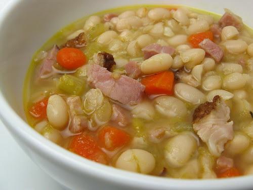 Ham & White Bean Soup