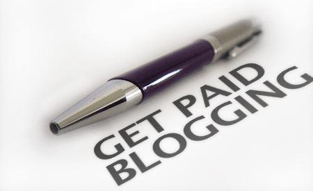 get paid blogging
