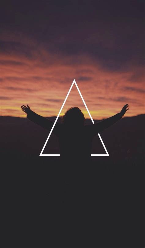beautiful hipster triangle iphone wallpapers
