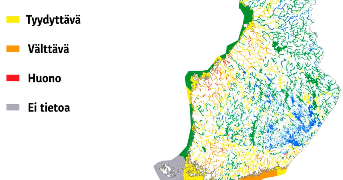 Sinilevä Kartta