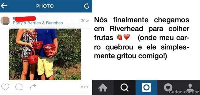 Jovem reescreve todas as legendas de seu Instagram para mostrar a verdade sobre seu ex-namorado