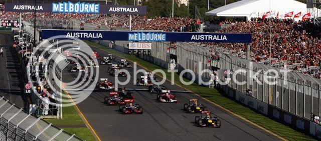 Salida GP Australia 2011