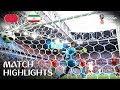 Irán le ganó por la mínima diferencia a Marruecos.
