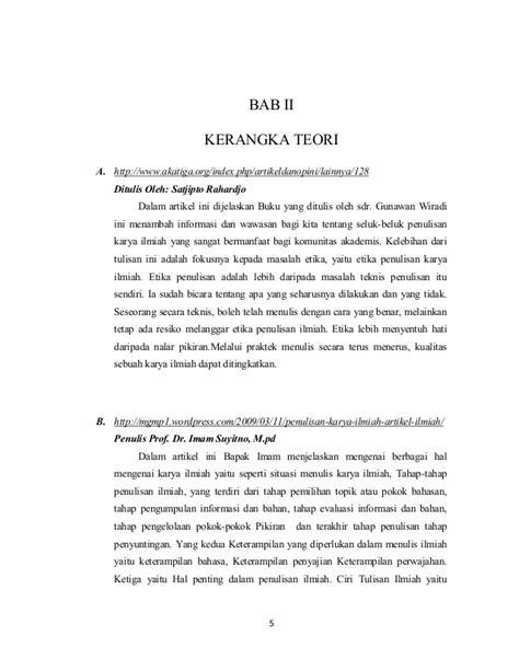 Contoh Karya Tulis Ilmiah Tentang Agama Islam - Contoh Z