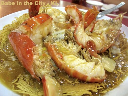 GV - Fresh Water Prawns Noodles