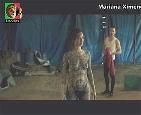 Mariana Ximenes nua no filme brasileiro de 2018 O Grande Circo Mistico