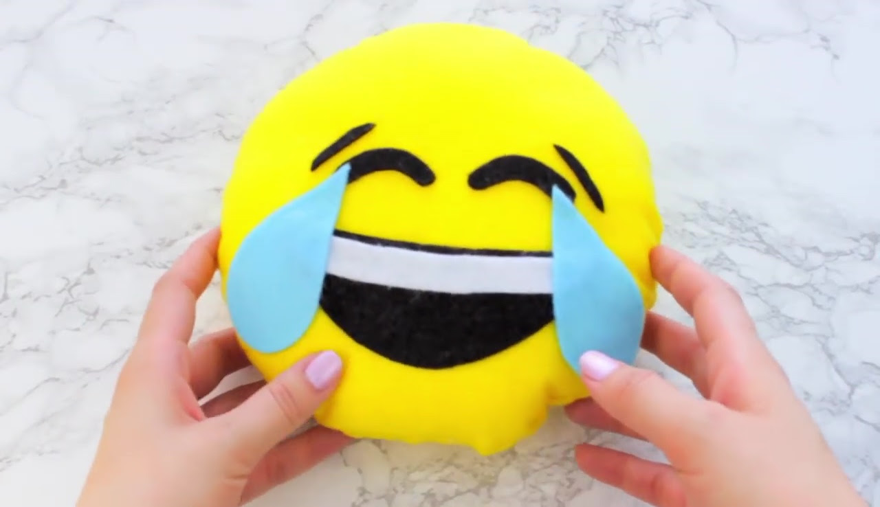 Image result for diy emoji pillow steps