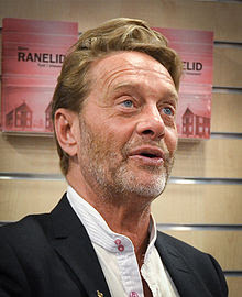 Björn Ranelid på Akademibokhandeln City i Stockholm 17 mars 2012.