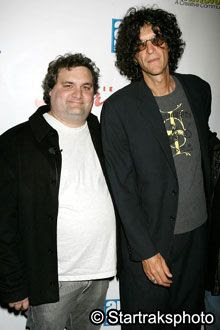 Artie Lange and Howard Stern.