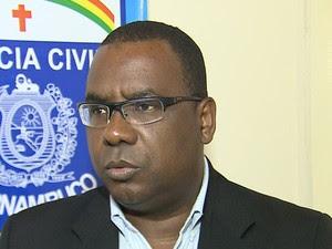 Delegado José Luzia disse que jovem foi morta após reagir a assalto (Foto: Reprodução/TV Asa Branca)