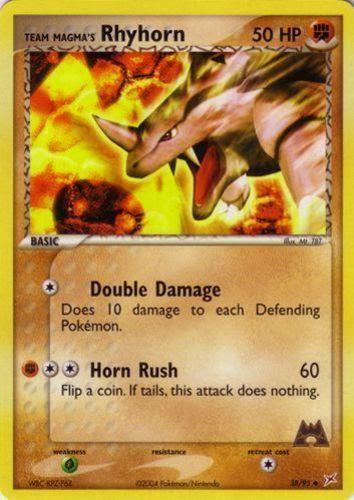 Rhyhorn Prices Pokemon Card Prices