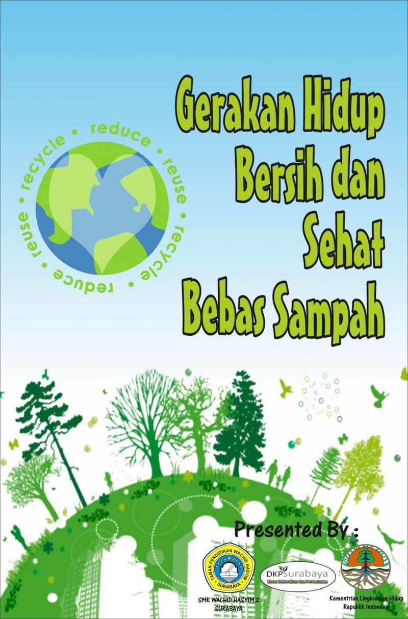 Lukisan Poster Cintai Alam Sekitar Cikimmcom