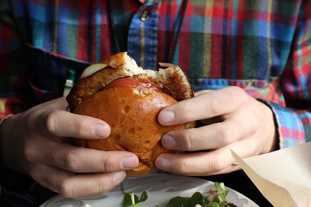 shiitake mushroom burger