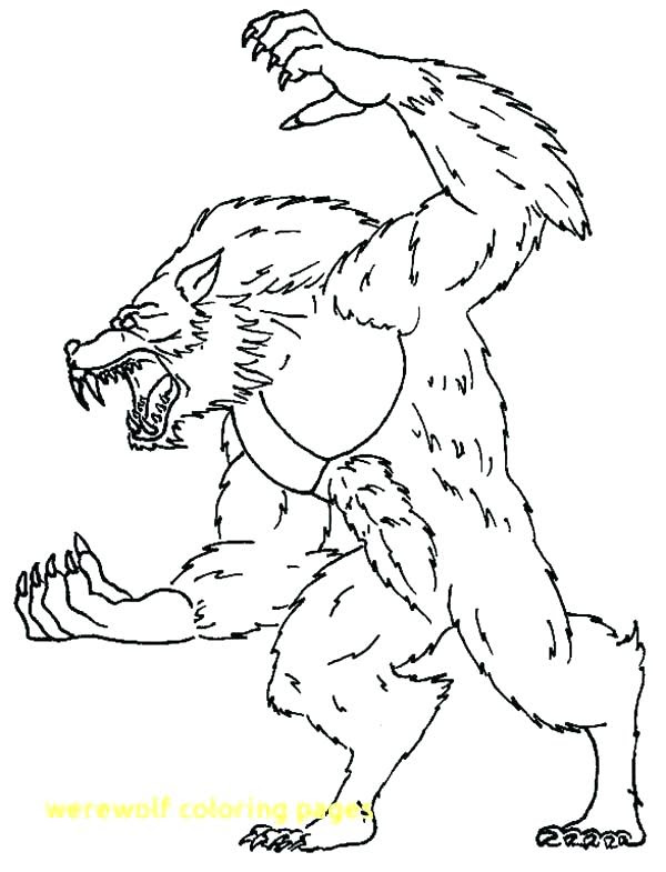 Scary Wolf Coloring Pages at GetColorings.com | Free ...