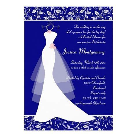 Royal blue wedding invitation background 14 » Background