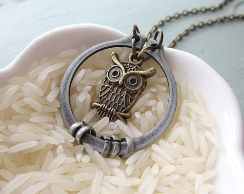 Hoot In The Loop necklace
