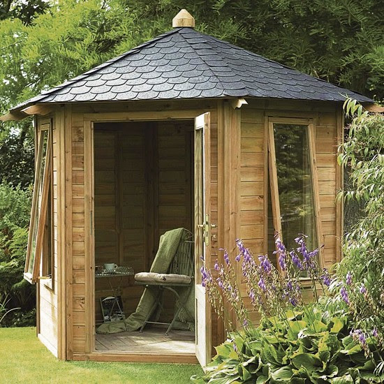 Caversham Summerhouse from B&Q | Buyer's guide to sheds and summerhouses | Garden ideas | PHOTO GALLERY | Ideal Home