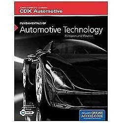 Fundamentals Of Automotive Technology: Principles and ...