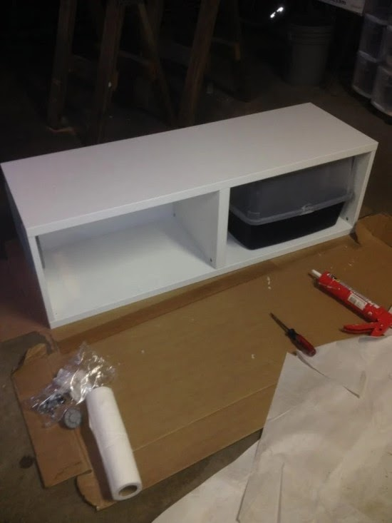 Ikea Litter Box Cabinet - Ikea cabinet converted to kitty litter box, just need to ... / Infamously ingenious blog ikea hackers nails it with their faktum kitty loo, an appropriated wall cabinet turned horizontal.