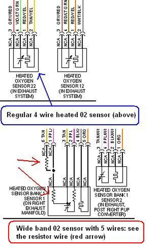 5 Wire O2 Sensor Wiring Diagram