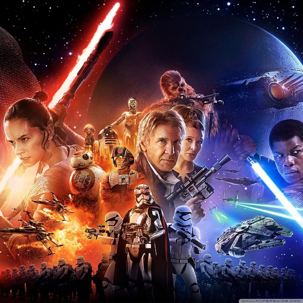 Star Wars Episode Vii The Force Awakens Ultra Hd Desktop