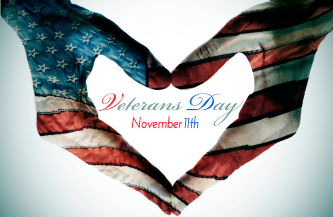 Veterans Day  - November 11, 2015 - View Discounts