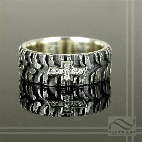 Chevy tire ring   Jewelry   Rings, Rings for men, Country