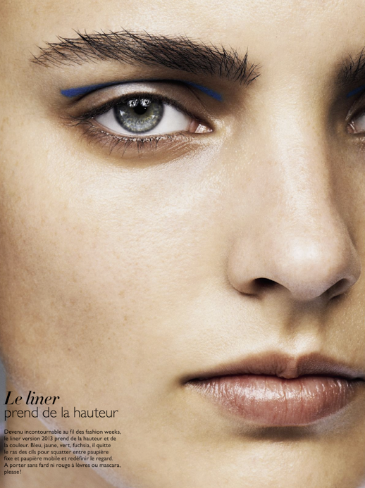 LE FASHION BLOG BEAUTY POST EDITORIAL Grazia France BOLD BRUSHED EYEBROWS BROW NEUTRAL NATURAL BEAUTY BLUE NEON GRAPHIC EYE LINER BRUNETTE BLUE EYES Model Olivia Pires Photographers Terry Gates Michael Sanders photo LEFASHIONBLOGBEAUTYPOSTEDITORIALGraziaFranceBOLDBRUSHEDEYEBROWSBROWNEUTRALNATURALBEAUTYBLUENEONGRAPHICEYELINERBRUNETTEBLUEEYESModelOlivi.png