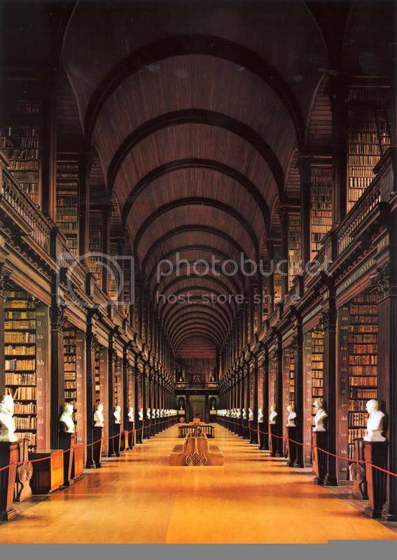 Trinity College - Long Room Pictures, Images and Photos