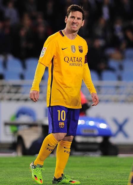 Messi jogou com Eto'o no Barcelona