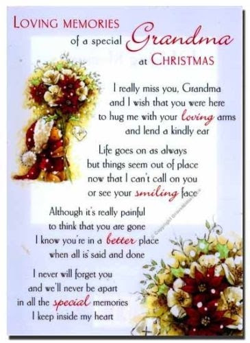 Missing Grandma At Christmas Time Pictures Photos And Images For