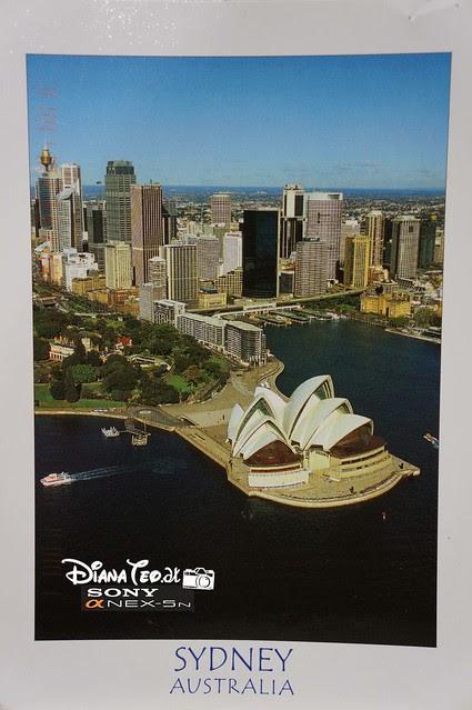 Postcard 14 - Australia Sydney