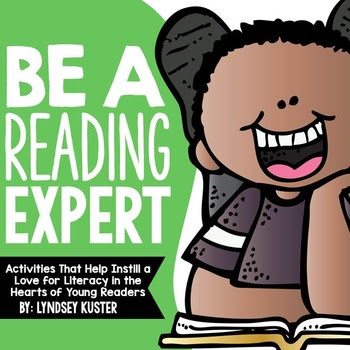 Be a Reading Expert! {Beginning of the Year Activities Tha