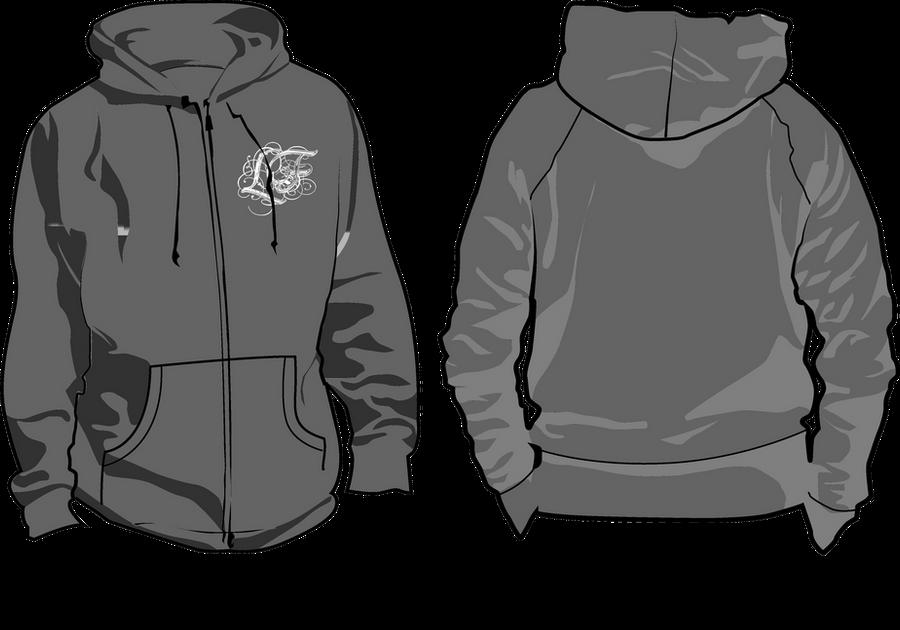 hoodie tempalte png - Black LF Hoodie by Hakarune on ...