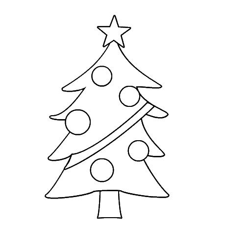 Christmas Tree Coloring Sheets 2018- Dr. Odd
