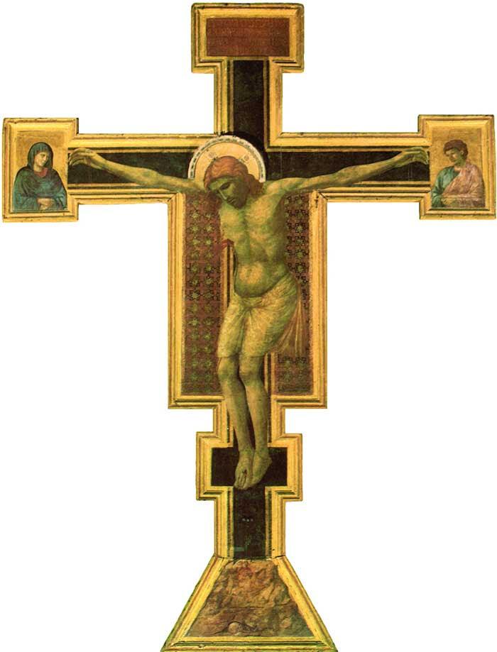 Resultado de imagen de giotto crucifixion santa maria novella