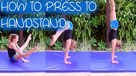 press  handstand youtube