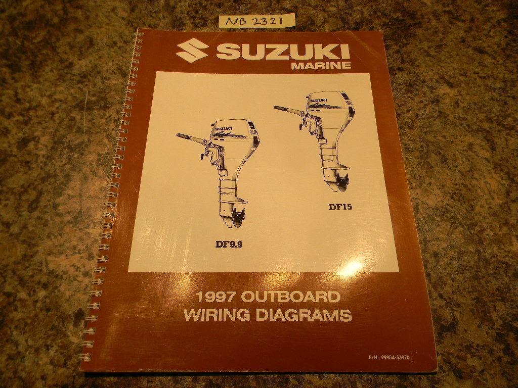 1997 Suzuki Marine Outboard Wiring Diagrams 99954-53970 | eBay
