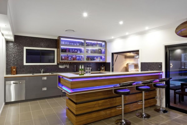 Stylish And Modern Home Bar Designs