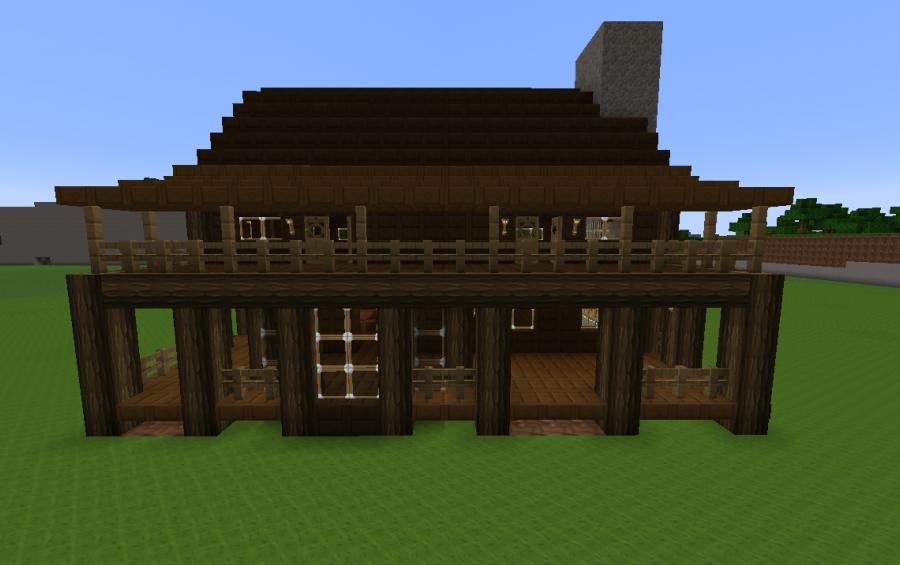 Minecraft House Dark Oak Harbolnas E
