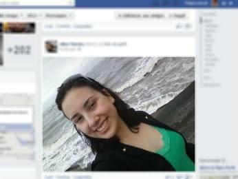 Aline Moreira foi encontrada morta em Curitiba (Foto: Reprodução/Facebook)