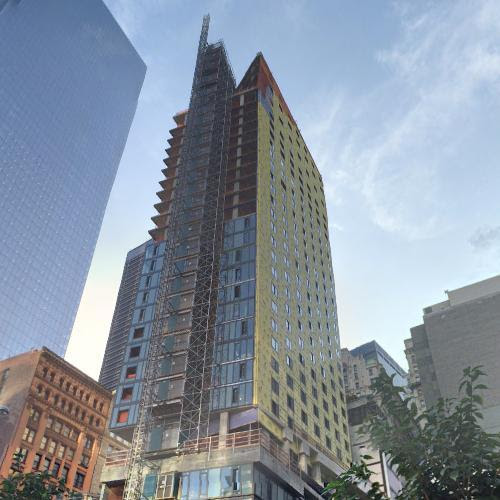 125 Greenwich Street Under Construction In New York Ny