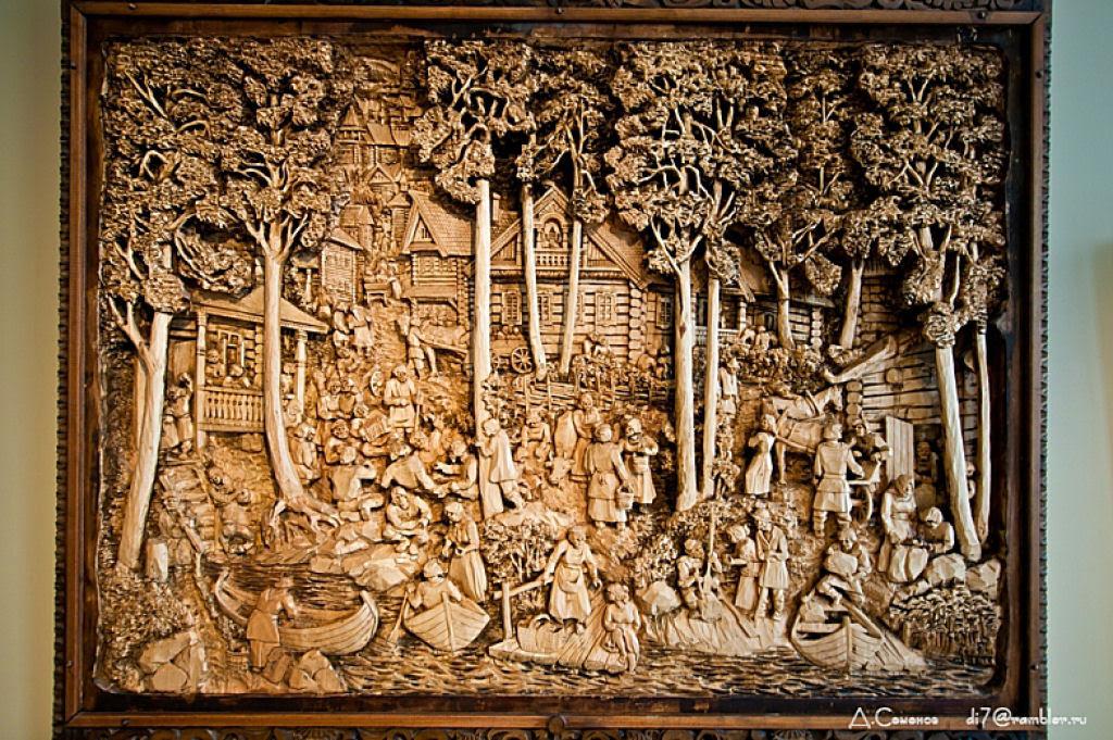 As incríveis pinturas esculpidas de Kronid Gogolev 02