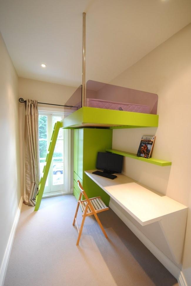 17 Raumsparideen f\u00fcr kleine Kinderzimmer und Jugendzimmer