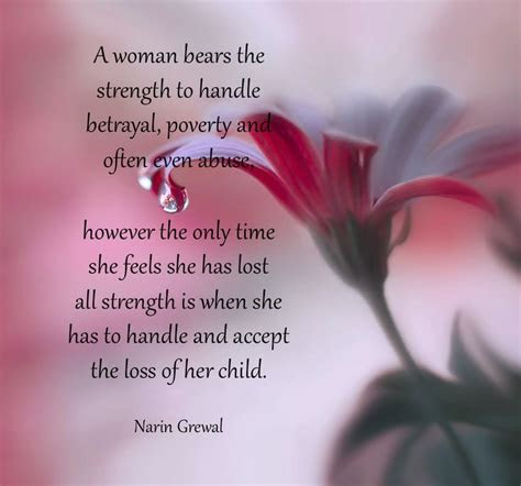 Strength Quotes Loss Child